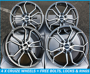 18 Alloy Wheels For Ford Mondeo Mk3 Mk4 Mk5 Fusion Transit Connect Cruize Cr5