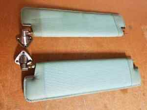 Pair Of Nice Original 1959 Lincoln Continental Mark Iv Sun Visors 1958 1960