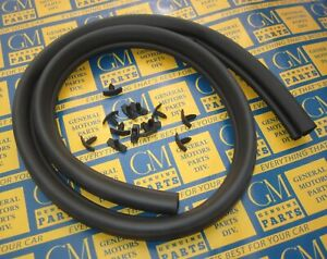 1968 1972 Gm A Body Hood To Cowl Weatherstrip Seal W Clips New Made In Usa
