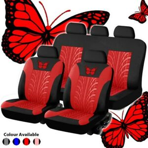 Seat Cover Gm Car Seat Cover Fabric Front And Rear Red And Black Seat Cover