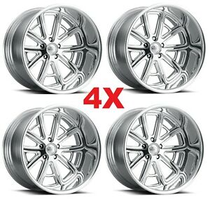 20 Street Rod Pro Wheels Rims Custom Forged Billet