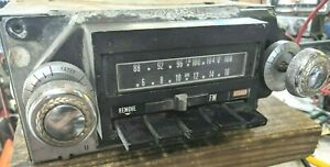 Guaranty 1971 1972 Chevrolet Impala Am Fm 8 Track Stereo Radio Working