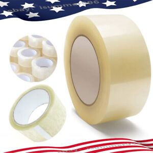 Us 12 18 Rolls Clear Tape Carton Sealing Packing Tape Box Shipping Storage