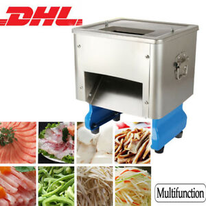 Electric Meat Slicing Shredding Cutting Machine Meat Cutter Slicers Vegetables