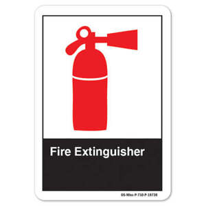 Ansi Sign Fire Extinguisher made In The Usa