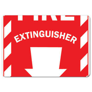 Osha Sign Fire Extinguisher With Arrow made In The Usa