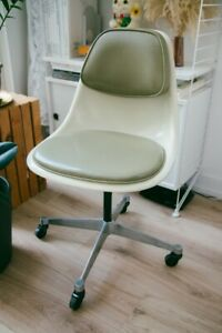 Rare Herman Miller Eames Zenith Pscc 4 1960 S Task Chair In Parchment Olive