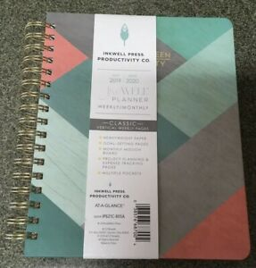 Inkwell Press 2019 2020 Academic Year Weekly Monthly Planner Medium 7 X 9
