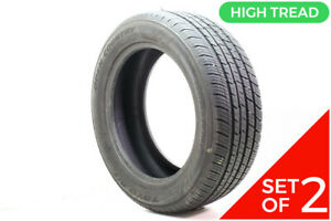 Set Of 2 Used 255 55r20 Toyo Open Country Q t 110v 10 32