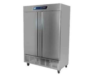 Fagor Refrigeration Qvf 2 n 56 Stainless Steel Two Door Reach in Freezer