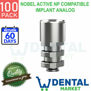 X 100 Nobel Active Np Compatible Implant Analog
