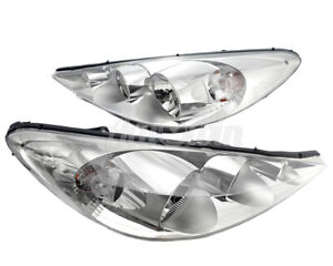 Peugeot 206 Plus Halogen Headlight Right And Left Side Original Oem New