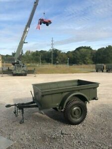 Reproduction Mb Trailer Mbt 1 4 Ton M100 Fits Willys Jeep Md Juan