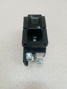 Pushmatic P230 30 Amp 2 Double Pole 30a 2p 120 240 Vac Circuit Breaker Used