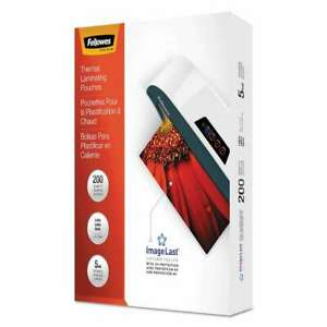 Fellowes Imagelast Laminating Pouches With Uv Protection 5mil 043859681464