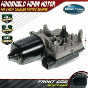 1x Front Windshield Wiper Motor For Chevy Cavalier Pontiac Sunfire 95 97 40 1010