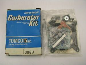 Tomco 5069a Carburetor Rebuild Kit Holley 4160 465 550 600 C F M