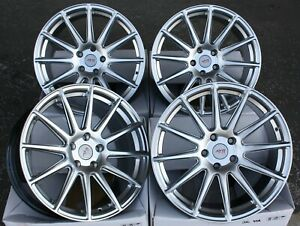 18 Alloy Wheels For Ford Mondeo Mk Mk4 Mk5 Fusion Transit Connect Ayr 02 Hs