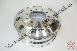 Alcoa Style Polished Aluminum Wheel 22 5 X 8 25 10 Lug 285mm Semi Truck