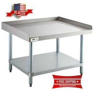 Stainless Steel Table 30 X 36 Commercial Mixer Grill Heavy Equipment Stand New