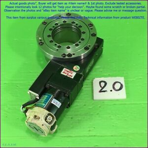 Newport Z488a dc Motor Rotary Stage As Photo sn 2107 Dhltous