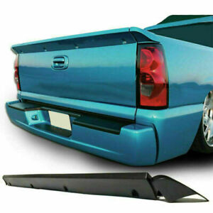 Tailgate Cover Protector Intimidator Spoiler Wing For 99 06 Chevy Silverado 1500