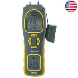 General Tools Mmh800 4 in 1 Combo Moisture Meter Pin Type pin Type Or Pinless