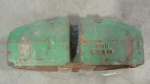 John Deere 80 820 830 Tractor Front Frame Weight R1871r 20109