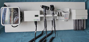 Welch Allyn 767 Integrated Wall Mount Otoscope Diagnostic Set With 7670 01w Cuff