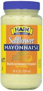 Hain Mayonnaise safflower 24 Oz Pack Of 4