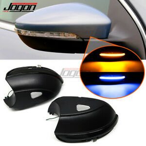 Dynamic Turn Signal Mirror Indicator For Vw Passat B7 Cc Scirocco Jetta Mk6 Eos