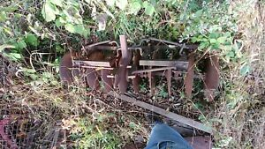International Cub Disc Harrow Plow 1pt 1 Point Fast Hitch Farmall Ih Disk Lo Boy