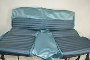 1966 Ford Mustang Upholstery Seat Cover Fastback Rear Seat Blue 66