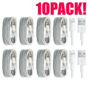 10x Fast Charging Cable Quick Charger Charge Power Sync Cord Bulk Wholesale $11.83