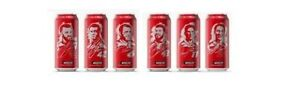 Nascar COCA-COLA 2019 Cans Limited Edition Collectible Six Can Set Wooden Box