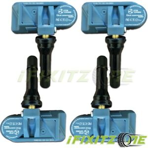 Itm Tire Pressure Sensor Dual Frequency Tpms For Scion Fr s 13 16 qty Of 4