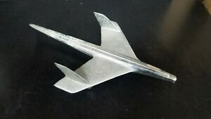 1955 Chevy Bel Air Hood Ornament Bird Eagle Chrome Original