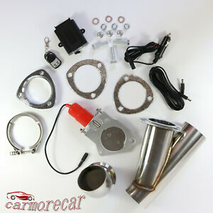E Cut Out Valve System Electric Exhaust Catback Downpipe Cutout 2 5 63mm Mannal