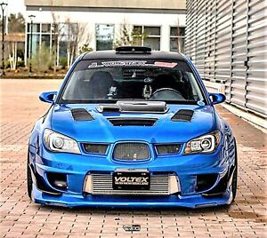 Rpg Ar 2 Stage Frp Hood Scoop Upgrade For 06 07 Subaru Impreza Wrx Sti Gdf Hawk