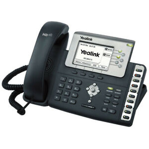 Lot Of 4 Yealink Sip t23g 3 Line Gigabit Voip Hd Voice Business Office Phone