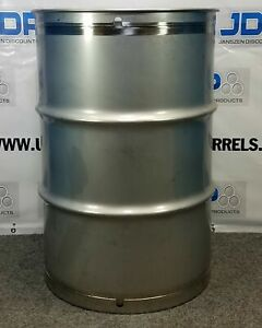 55 Gal 301 New Stainless Closed Head Maple Syrup Barrel Crevice Free 1 5mm