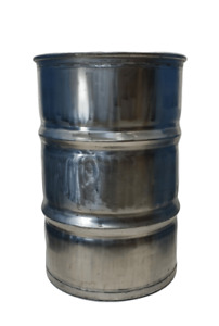 55 Gallon 304 Sanitary Stainless Steel Drum 4 Pack