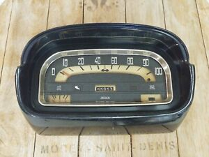 Renault Caravelle Jaeger Speedometer Dated Sept 1964