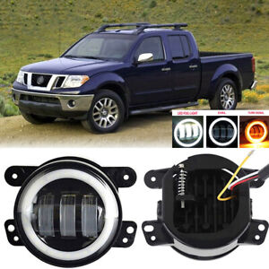 Led For Nissan Frontier 05 19 Clear Lens Pair Bumper Fog Light Lamp Replacement