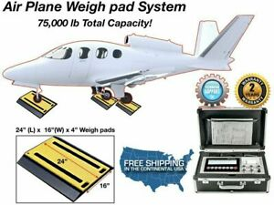 Selleton Sl air 928 Air Plane Weigh Pad System With Capacity Of 75 000 Lbs