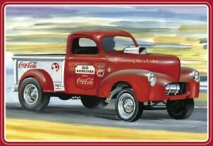 AMT Models Coca-Cola 1940 Willys Gasser Pickup Truck 1/25 1145