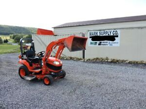 2011 Kubota Bx1860 Sub Compact Tractor Loader Belly Mower 4x4 3 Point Hitch Pto