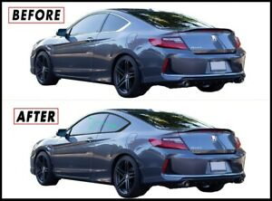 2013 2017 Honda Accord Coupe Chrome Trim Delete Kit Blackout Overlays