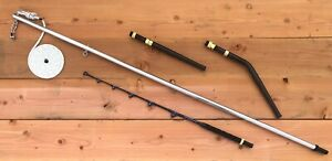 Dredge Boom Rod Rigger Outrigger Trolling Rod