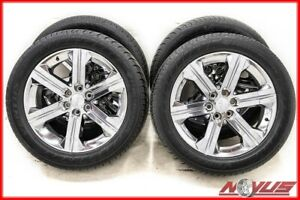 Oem 22 Gmc Yukon Sierra Denali Chevy Silverado Chrome Wheels Tires Ck157 20 24